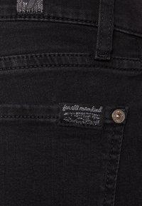 7 for all mankind - ROXANNE - Slim fit jeans - bair rinsed black - 4
