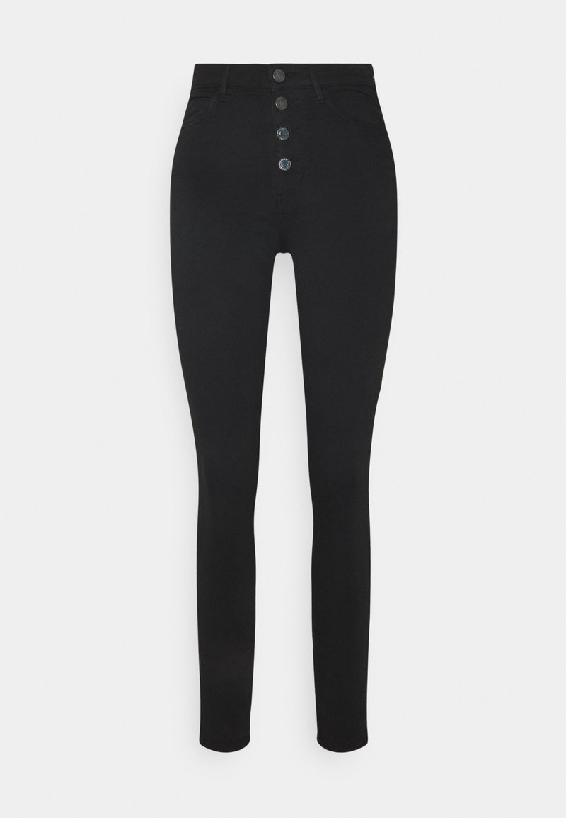 Guess - SUPER STRETCH SUNNY  - Trousers - jet black