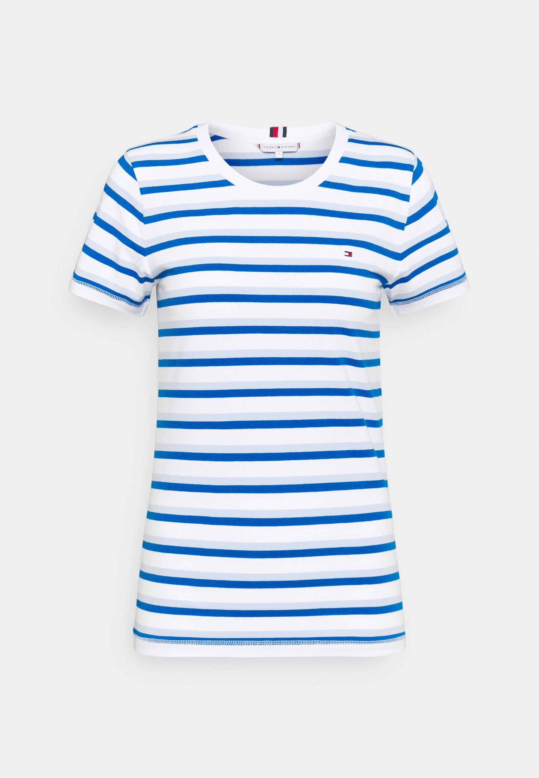 Women COOL SLIM ROUND - Print T-shirt