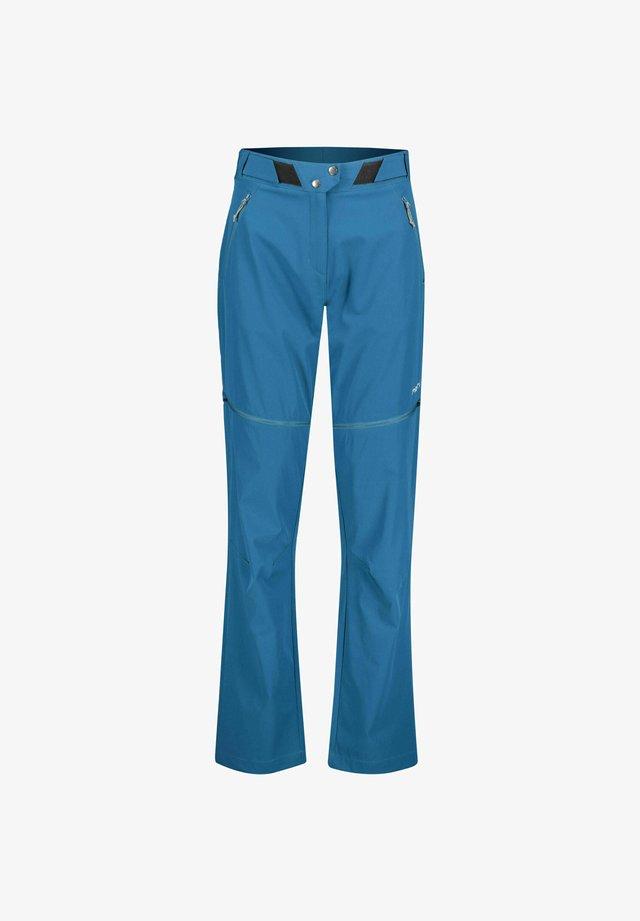 ROTOURA ZIPP OFF - Pantalon classique - petrol