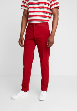 PANTS - Chinos - red