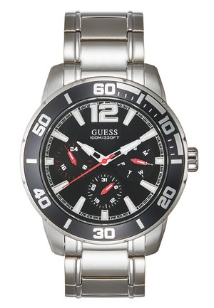 MENS SPORT - Watch - silver-coloured/black