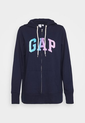 OMBRE - Zip-up hoodie - navy uniform