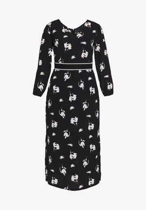 DRESS - Denní šaty - black/white