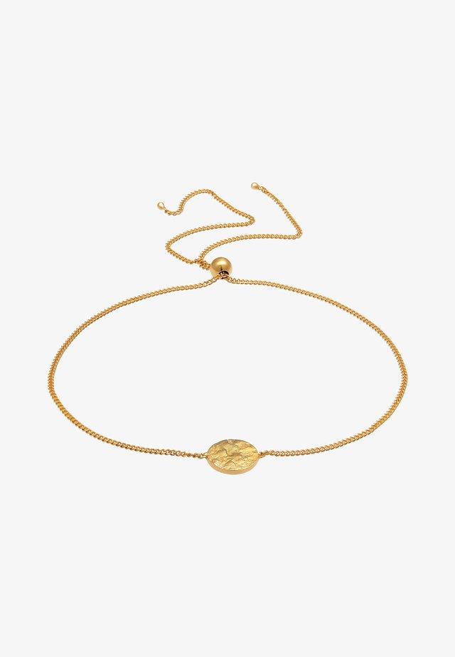 PLÄTTCHEN  - Bracelet - gold