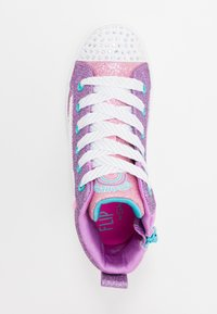 Skechers - FLIP-KICKS LOVE REVERSIBLE SEQUINS - High-top trainers - lavender durasatin/multicolor sparkle - 1