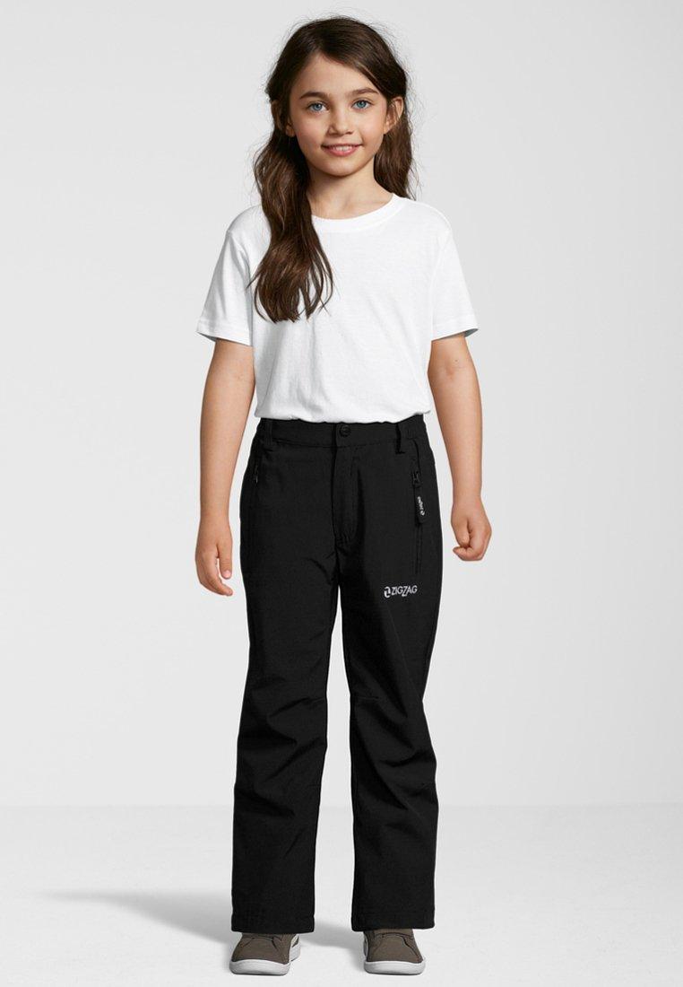 ZIGZAG - NUCLA W PRO - Trousers - black