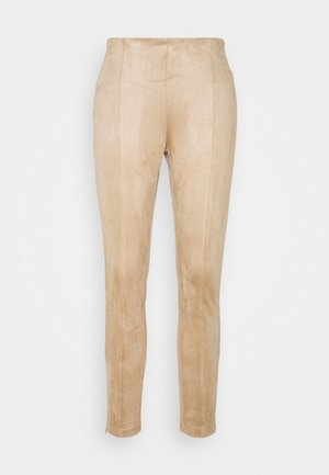 NMTALLY - Leggings - Trousers - beige