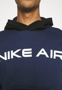 Nike Sportswear - AIR HOODIE - Luvtröja - midnight navy/black - 4