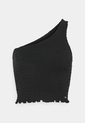 ONE SHOULDER  - Top - black