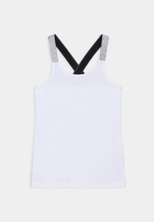 NKFVALS RACER TANK - Top - bright white