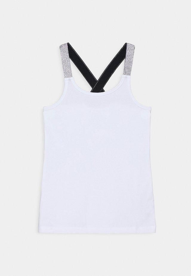 NKFVALS RACER TANK - Top - bright white