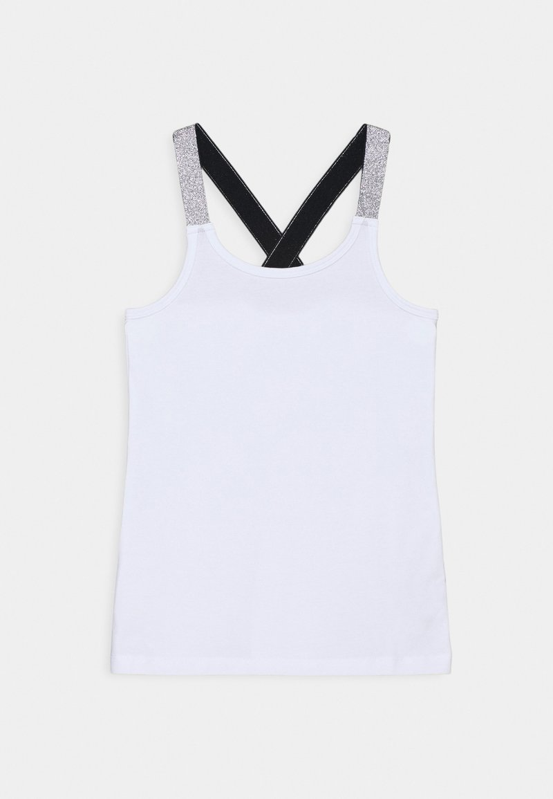 Name it - NKFVALS RACER TANK - Top - bright white