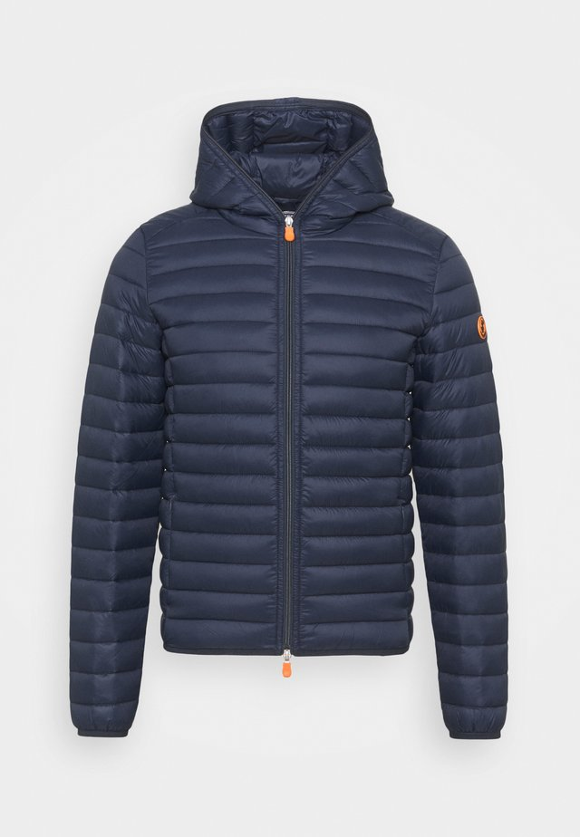DONALD HOODED JACKET - Giacca invernale - blue black