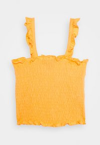 New Look 915 Generation - SHIRRED FRILL - Top - dark yellow - 0