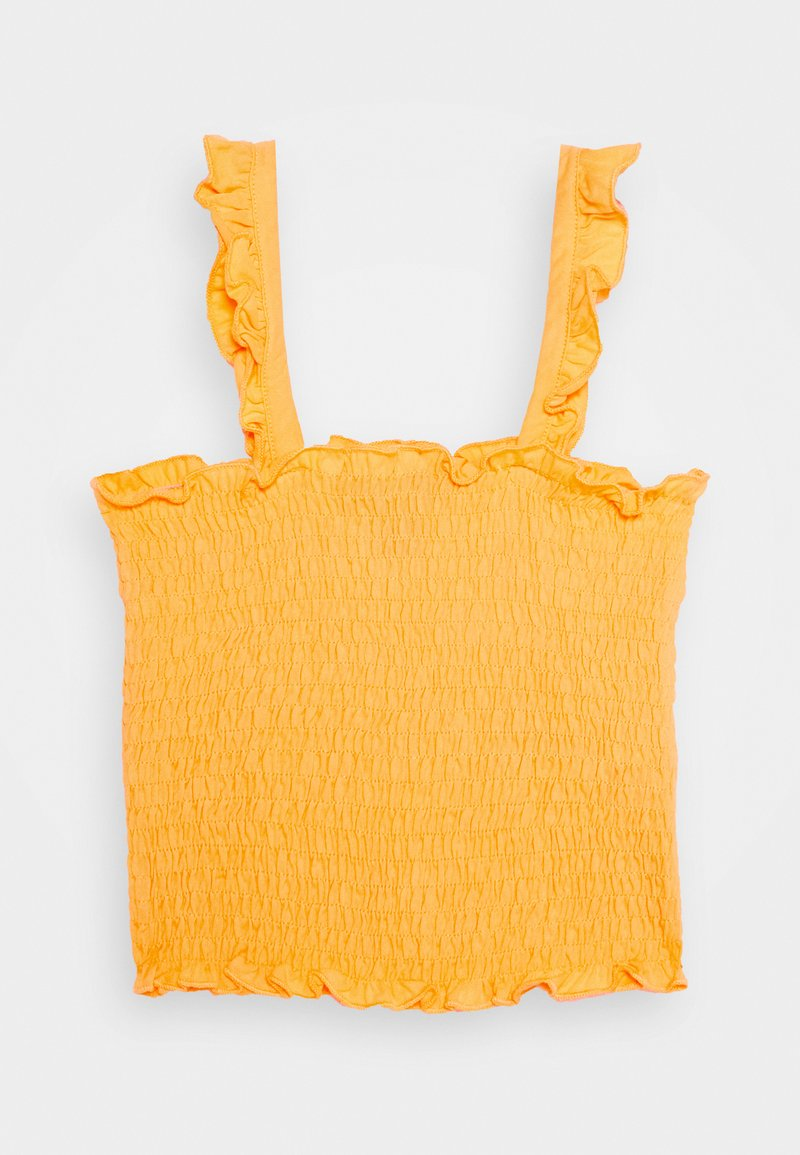 New Look 915 Generation - SHIRRED FRILL - Toppe - dark yellow