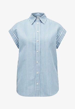 EMIRTA - Button-down blouse - blue