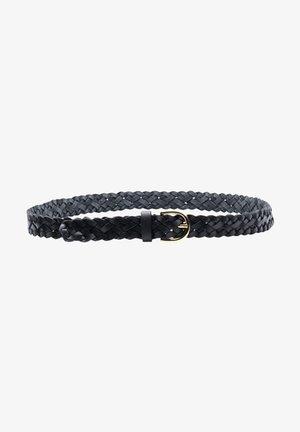Pletený pásek - black