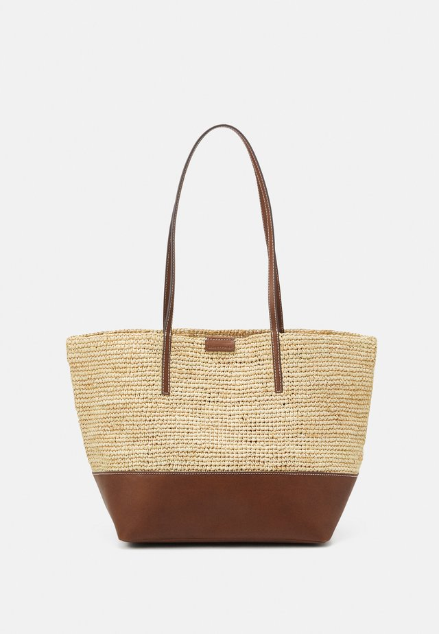 LAURI - Shopper - maroon brown