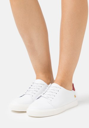 JOANA  - Baskets basses - real white/candy red