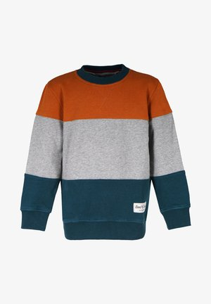 Jumper - rust-dark-petrol