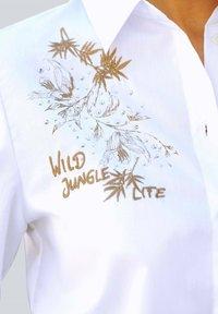 Alba Moda - Button-down blouse - weiß,beige - 2