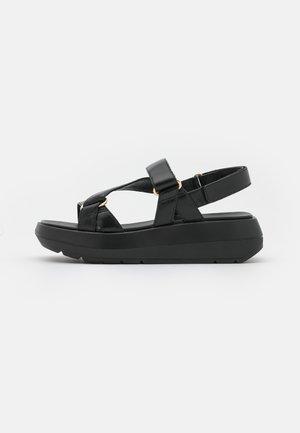 MOXIE SPORT - Sandales à plateforme - black