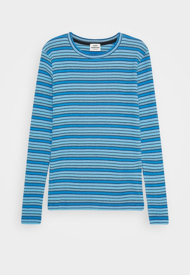 JOY STRIPE TALINO - Long sleeved top - multi/blue