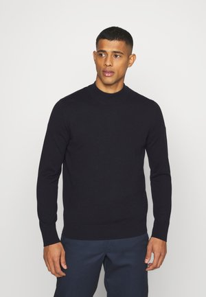TURTLENECK JUMPER - Jumper - blue dark