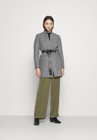 ONLY - ONLSOHA ADALINE COATIGAN  - Classic coat - medium grey melange - 1
