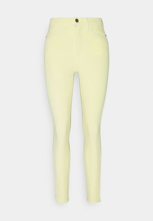 SCULPT ANKLE PANT - Jeans Skinny Fit - frosted lemon