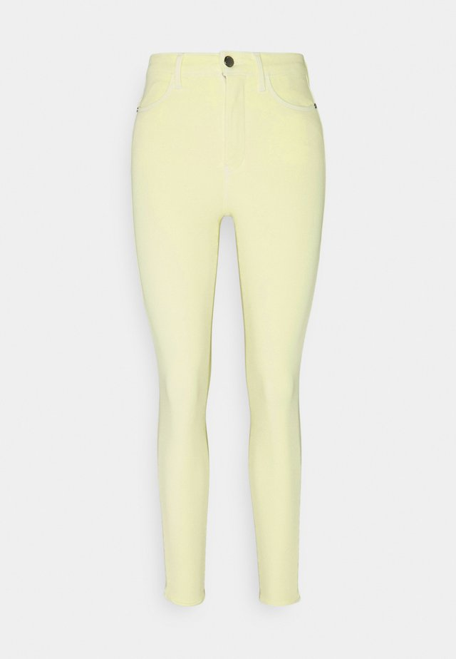 SCULPT ANKLE PANT - Skinny džíny - frosted lemon