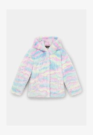 Winter jacket - blue/pink