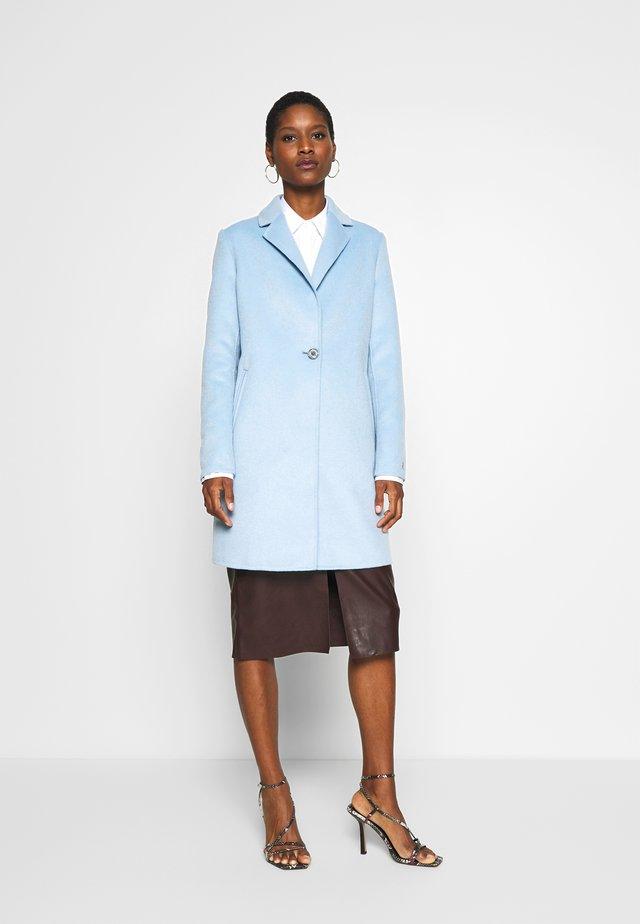 ANCONA - Cappotto corto - light blue