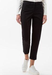 BRAX - STYLE MARA S - Pantalon classique - perma black - 0