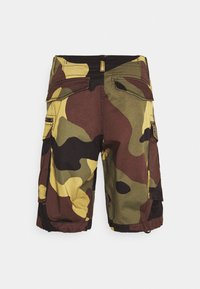 G-Star - ROVIC ZIP RELAXED - Shorts - olive/brown/beige - 7