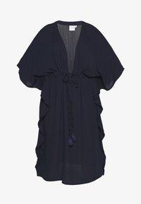 JUNAROSE - by VERO MODA - JRFAYA MIDI KAFTAN DRESS - Ranta-asusteet - navy blazer - 4