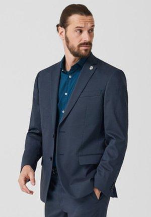 MIT STRUKTURMUSTER - Blazer jacket - blue
