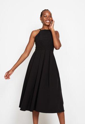 STRAPPY SKATER - Cocktail dress / Party dress - black