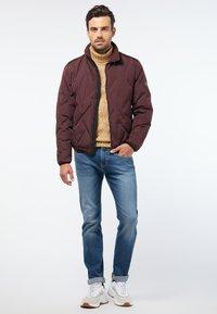 Pierre Cardin - Light jacket - dark red - 1