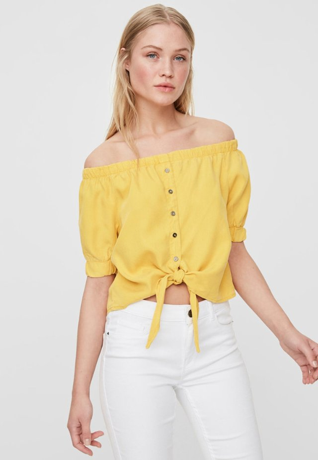 Blouse - lemon chrome
