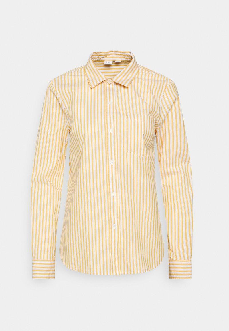 GAP - Button-down blouse - gold