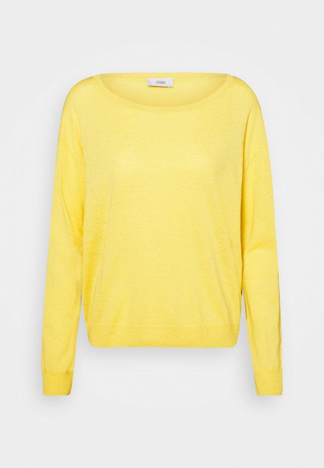 WOMENS  - Jersey de punto - strong mustard
