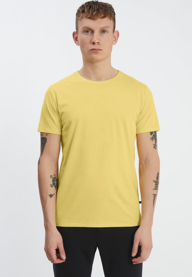 JERMALINK - T-shirt basic - light yellow