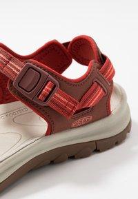 Keen - TERRADORA II  - Walking sandals - dark red/coral - 5