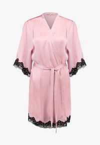 Anna Field - Dressing gown - pink/black - 3