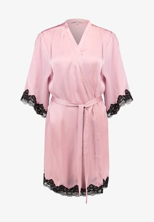 Dressing gown - pink/black