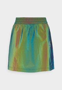 Calvin Klein Jeans - REFLECTIVE MINI SKIRT - Mini skirt - multi-coloured - 4