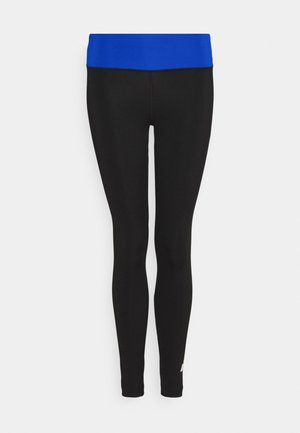 FULL LENGTH LEGGING LOGO - Leggings - black