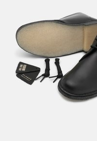 Clarks Originals - DESERT BOOT - Ankle boots - black polished - 5